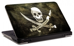 "Наклейка на ноутбук ""Пиратская метка"""