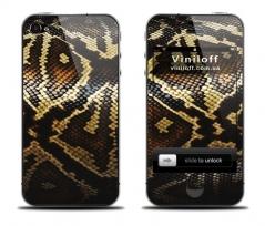 """Наклейка на iPhone """"Кожа змеи"""""""