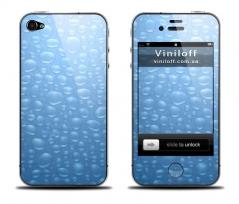 "Наклейка на iPhone ""Капли воды"""