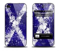 """Наклейка на iPhone """"White cross"""""""