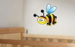 """Наклейка """"Веселая пчелка"""""""