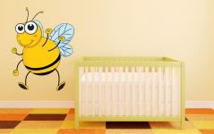 """Наклейка """"Дружелюбная пчелка"""""""