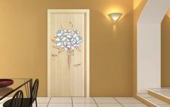 """Наклейка на дверь""""017"""""""