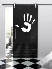 """Наклейка на дверь """"019"""""""