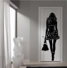"""Наклейка на дверь """"021"""""""