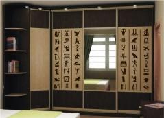 """Наклейка на шкаф """"ДревнеЕгипетские письмена"""""""