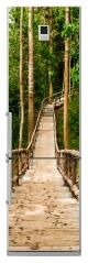 "Наклейка ""Мост в лесу"""
