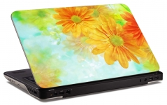 "Наклейка на ноутбук ""Цветочный рай"" (260х169мм)"