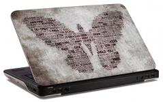 """Наклейка на ноутбук """"Бабочка"""" (250х168мм)"""