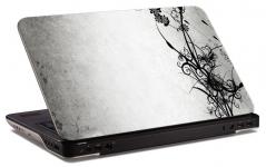 "Наклейка на ноутбук ""Черно-белый грандж"" (250х174 мм)"