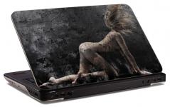 "Наклейка на ноутбук ""Девушка из земли"" (357х255 мм)"