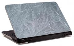 """Наклейка на ноутбук """"Холодный узор"""" (250х170 мм)"""
