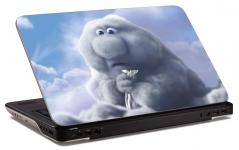 """Наклейка на ноутбук """"Неловкая тучка"""" (320х210 мм)"""