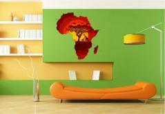 """Наклейка на стену """"Африка"""""""