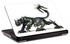 """Наклейка на ноутбук """"Металлический зверь"""" (238х158 мм)"""