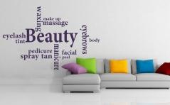 """Наклейка """"Beauty"""""""