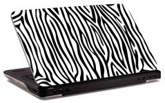 """Наклейка на ноутбук """"Зебра"""" (250х168мм)"""