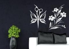 """Наклейка на стену """"Весенний стиль"""""""