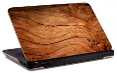 """Наклейка на ноутбук """"Деревянный сруб"""" (374х254 мм)"""