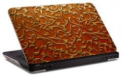 "Наклейка на ноутбук ""Кованные узоры"" (400х260 мм)"