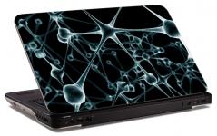 """Наклейка на ноутбук """"3d решетка"""" (378х256 мм)"""