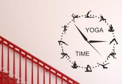 "Наклейка ""Yoga time"""