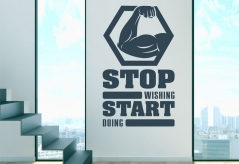 "Наклейка ""Start doing"""
