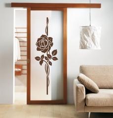 """Наклейка на стену """"Роза"""""""