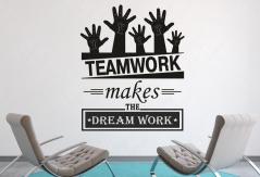 """Наклейка Текст """"Teamwork"""""""