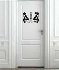 """Наклейка на дверь """"032"""""""
