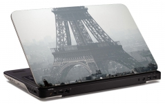 "Наклейка на ноутбук ""Эйфелева башня"" (254х179 мм)"
