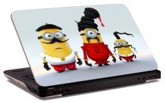 """Наклейка на ноутбук """"Миньоны-козакы"""" (269х178 мм)"""