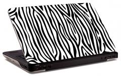 """Наклейка на ноутбук """"Зебра"""" (364х229 мм)"""
