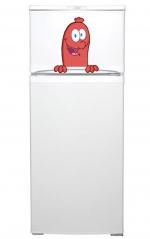"""Наклейка на холодильник """"Веселая сосиска"""""""