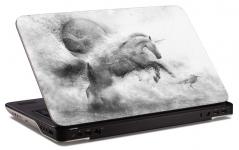 "Наклейка на ноутбук ""Единорог"" (280х190 мм)"