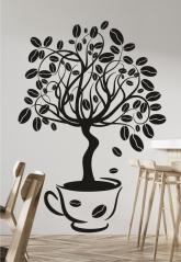 """Наклейка """"Кофейное дерево"""""""