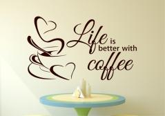 "Наклейка ""Coffee-2"""