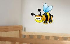 """Наклейка на стену """"Веселая пчелка"""""""