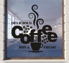 "Наклейка ""Coffee delicious"""