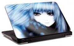 """Наклейка на ноутбук """"Анимэ-леди"""" (248х148 мм)"""
